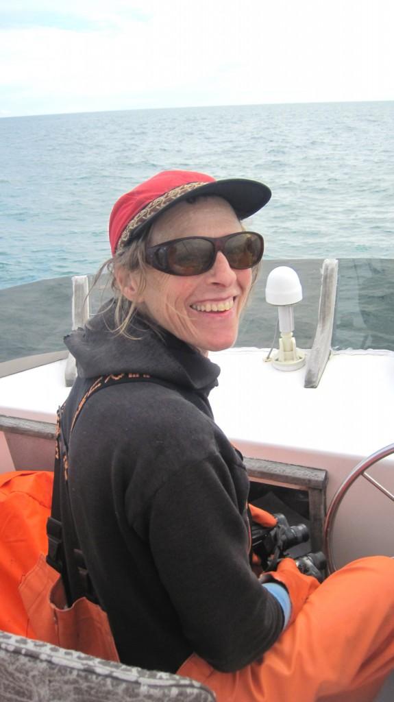Annette Bellamy_Ceramicist and  Fisherwoman