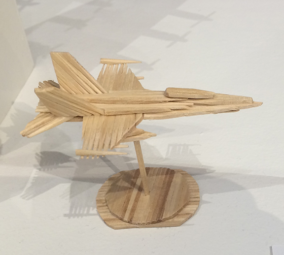 Miniature F18 Fighter Jet