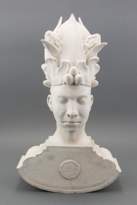 Dirk Staschke_Anonym #3_1999_Porcelain_20 x 15 x 6_Gift of Gail M. and Robert A. Brown, 2013.7.12_Photograph by Alex Hochstrasser