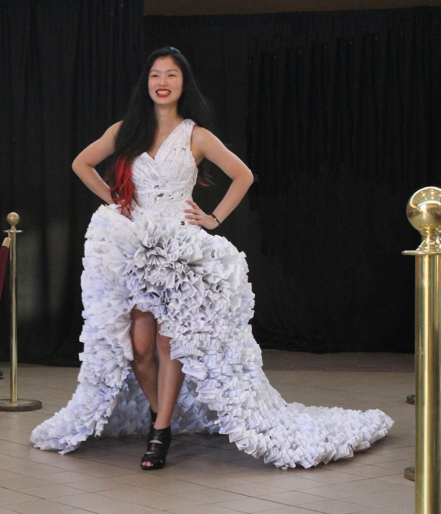 Cynthia Gu, Paper Dress