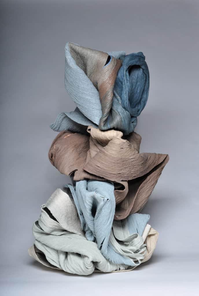 "Cheryl Ann Thomas, Shade, 2017. Ceramic 36"" x 19"" x 19"""