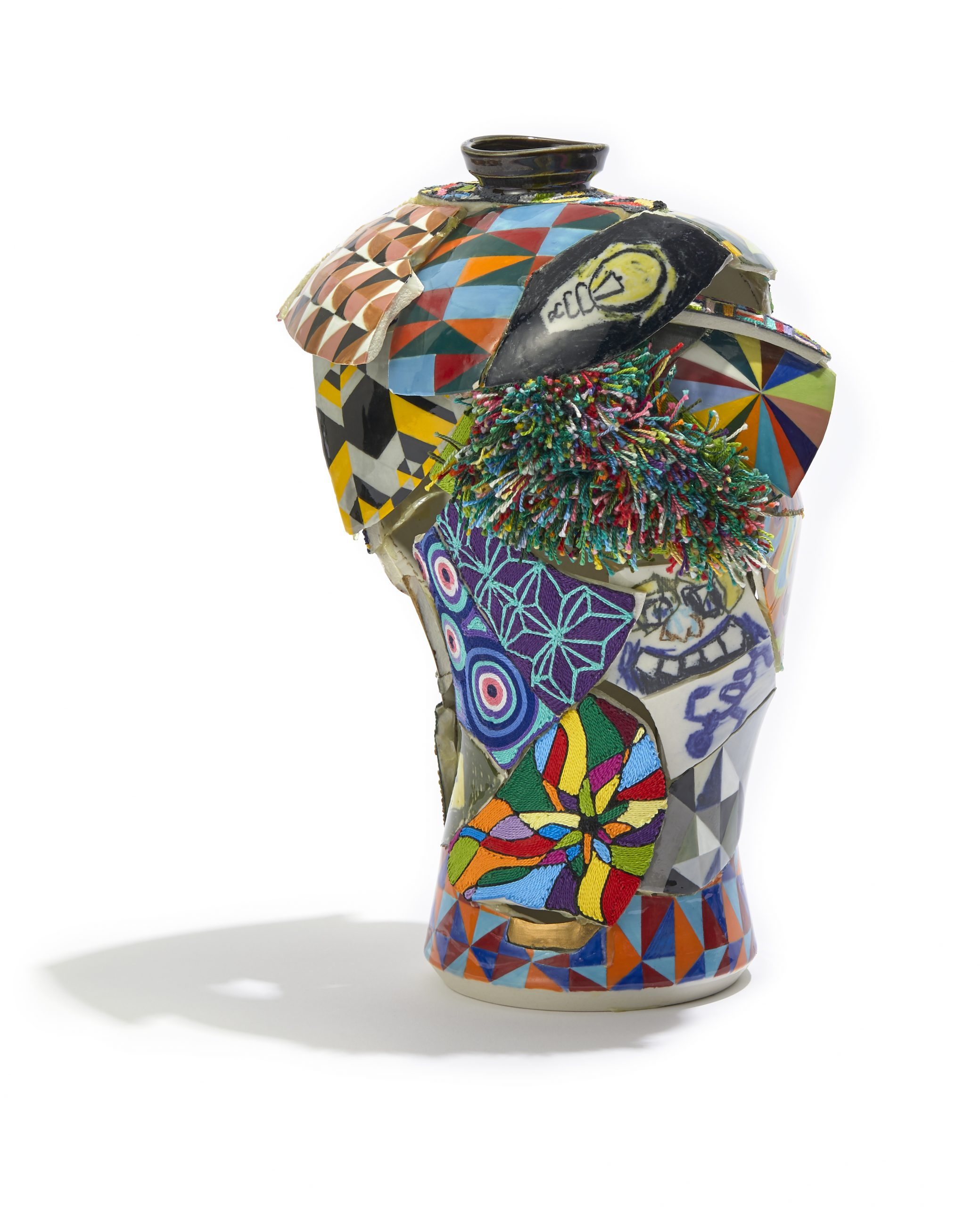 Artwork for the 2020 Biennial Members Exhibition at Fuller Craft Museum