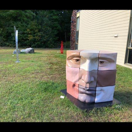 Outside sculptures from New England Art Sculptors Associationthe