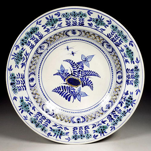 Maiolica on Earthenware